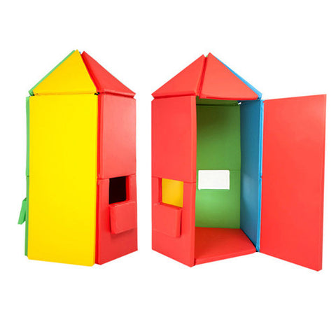 Foldaway Castle Play Set (Rainbow)