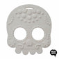 Helles Teeth Sugar Skull Teether (White) - Merrybubs