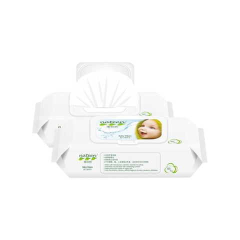 Nateen Baby Wet Wipes - 12 pkts / carton