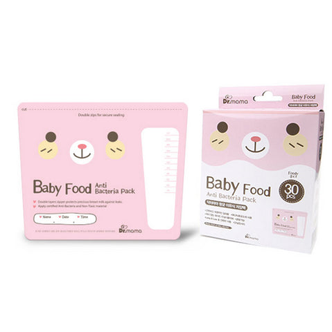 Dr Mama Baby Food Storage Bags, 30s