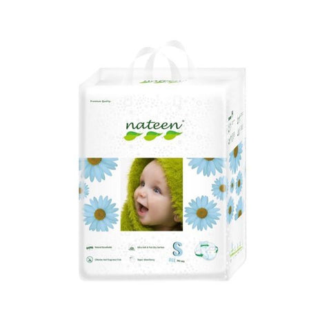 Nateen Baby Diapers S - Carton 2x80's