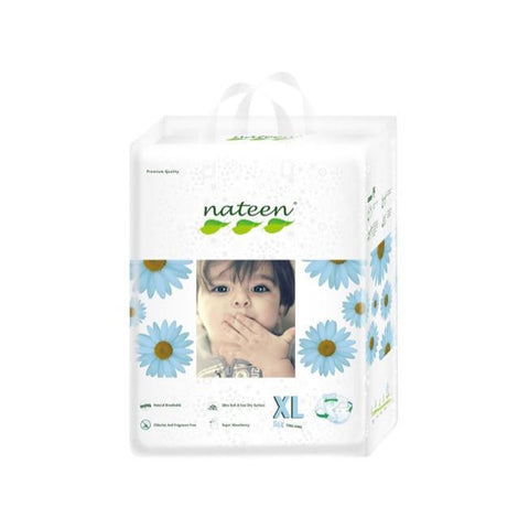 Nateen Baby Diapers XL - Carton 2x56's