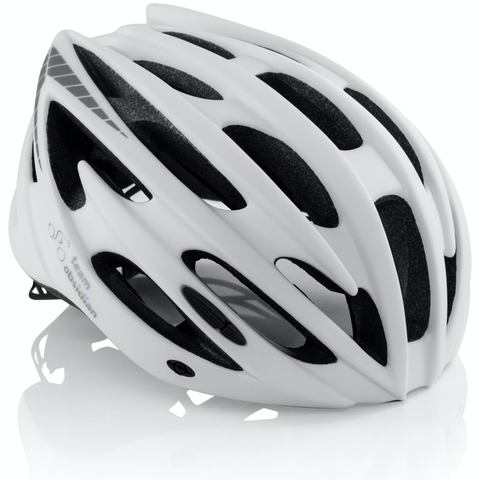 Airflow Bike Helmet with Reinforcing Skeleton (White)