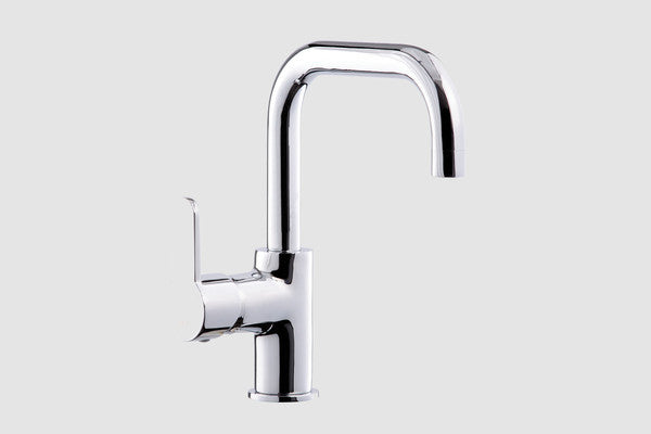 Lento Tall Basin Faucet Swivel Spout