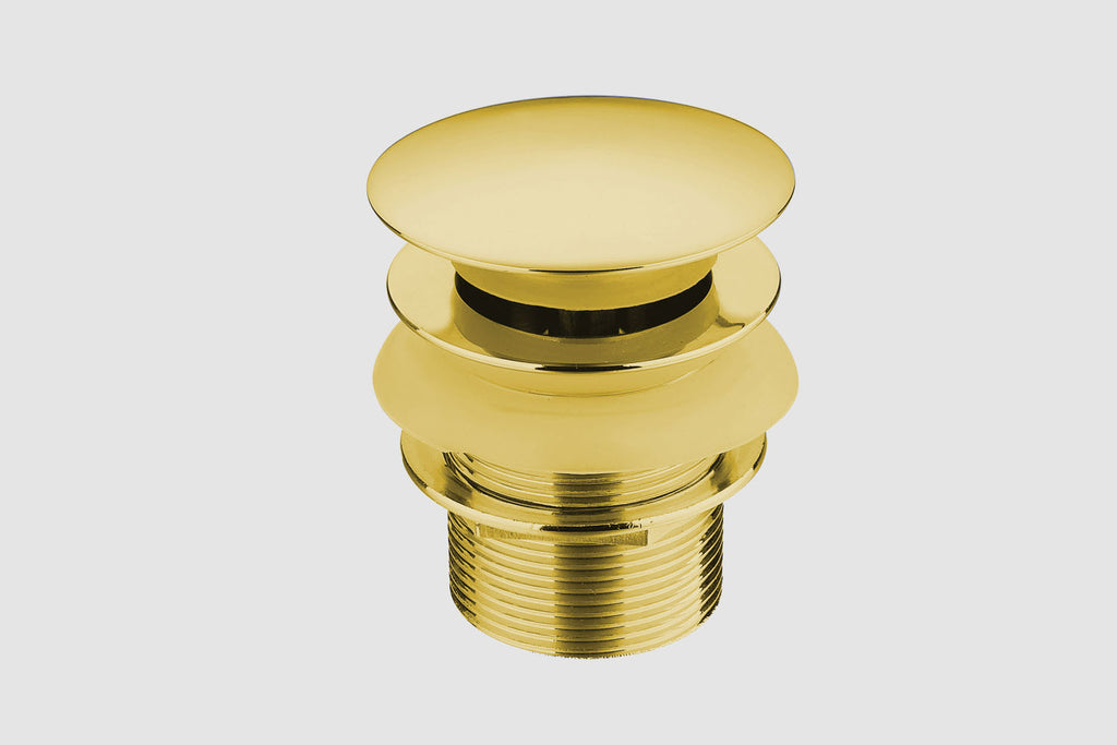 ST01 Gold Automatic Drain Plug Without Hole