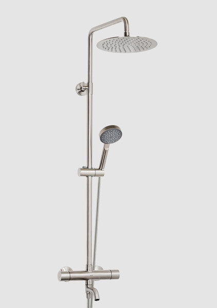 Rondo Inox 510 Thermostatic Bath Shower Systems