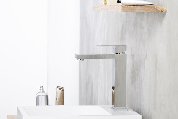 Integra Chrome Medium Basin Faucet