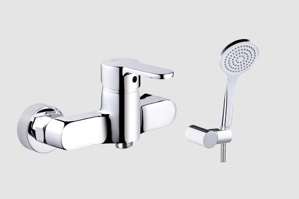 Shower Mixer With Lido Shower Kit Flexible