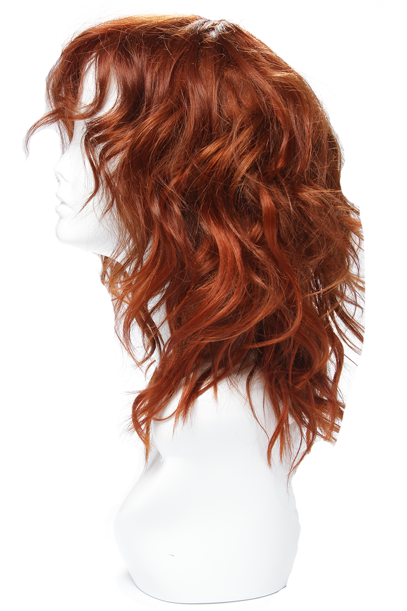 Rihanna Red Hair Wig