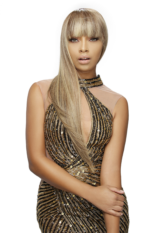 Tyra Banks Long Blonde Wig