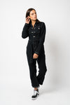 FAE LONDON - STAMFORD DENIM BOILERSUIT WITH CONTRAST STITCH