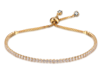 Gold FAE glitz friendship bracelet