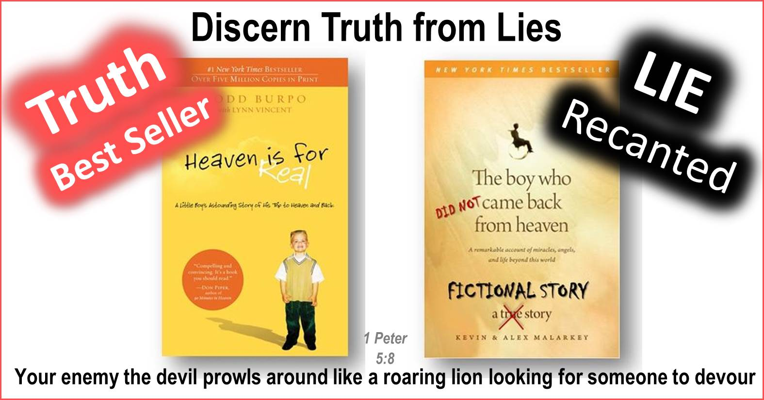 Examining the Heaven is for Real Hoax – Is the Devil in the