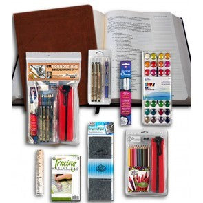 Bible Journaling Kit with Bible