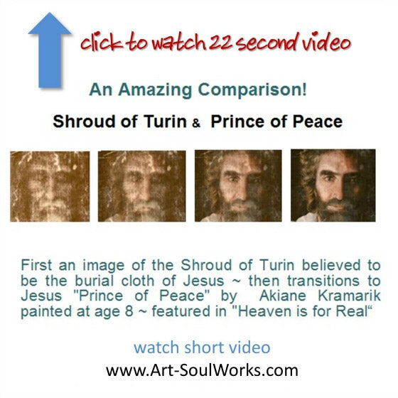 Have you seen the similarities in the Shroud of Turin & Jesus Prince