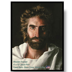 Jesus Prince of Peace by Akiane kramarik, framed Print in 8-inches x 10-inches AK 775