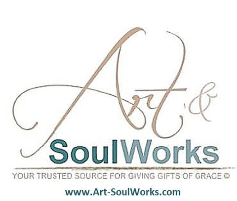 Art & SoulWorks Logo takes you to the online site www.art-soulworks.com