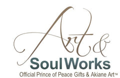 Logo and Click to go to www.Art-SoulWorks.com  official source for Akiane Kramarik Gifts and Art