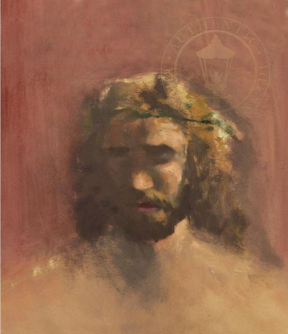 Jesus, Prince of Peace painted by Thomas Kinkade from 1980 vision