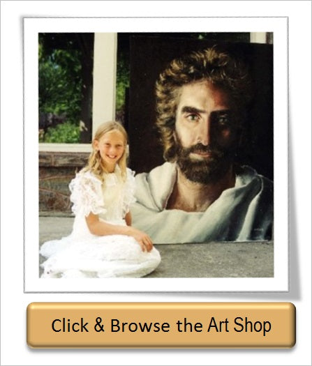Prince of Peace Jesus Painting by Akiane Kramarik compared to Shroud of Turin