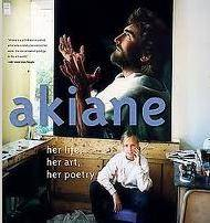 Front Cover Table Top Hardback Book about Akiand