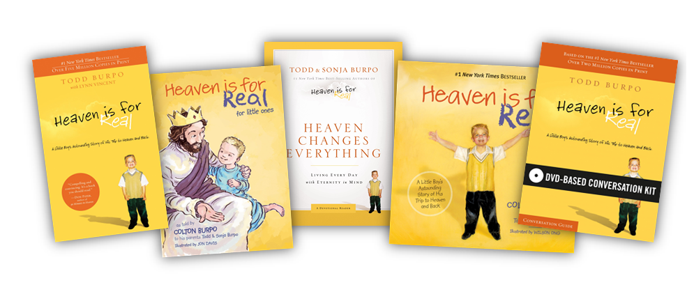Heaven is for Real book series