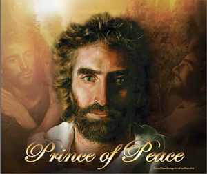 Prince of Peace by Akiane Kramarik montage by Art & SoulWorks