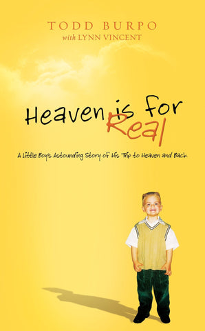 Heaven is for Real - HIFR - Hardback @ www.art-soulworks.com