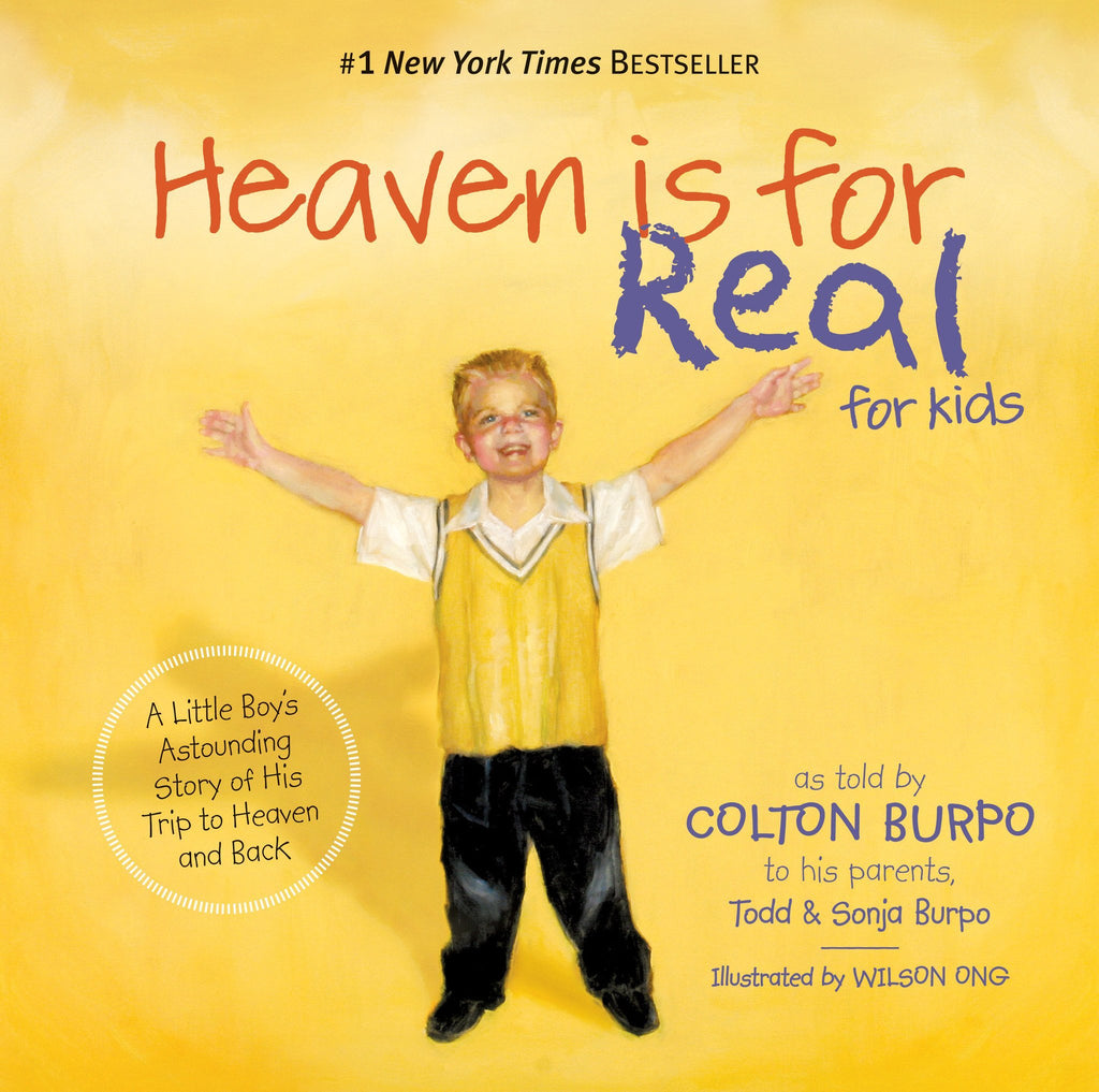 Heaven Is For Real for Kids, Hardcover Book @ www.art-soulworks.com