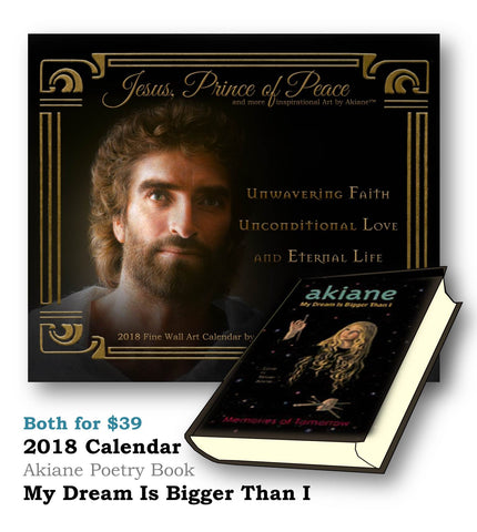 2018 Prince of Peace & My Dream Is Bigger Than I Book Combo