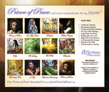 12 Beautiful Images on Back Cover – 2014 Wall Calendar - Akiane Kramarik