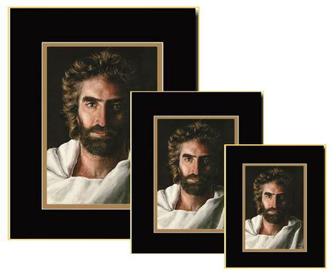 3 piece prince of peace double matted prints pack by www.art-soulworks.com