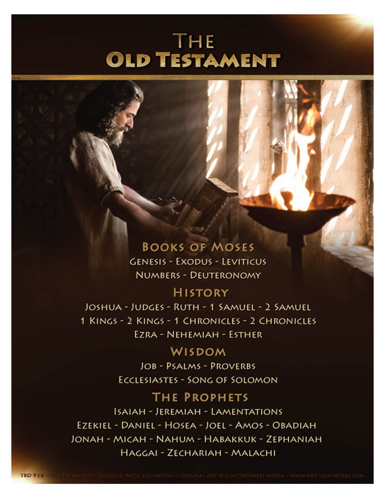 "OLD TESTAMENT BOOKS of the Bible 8""x10"" Printable-Instant-Download"