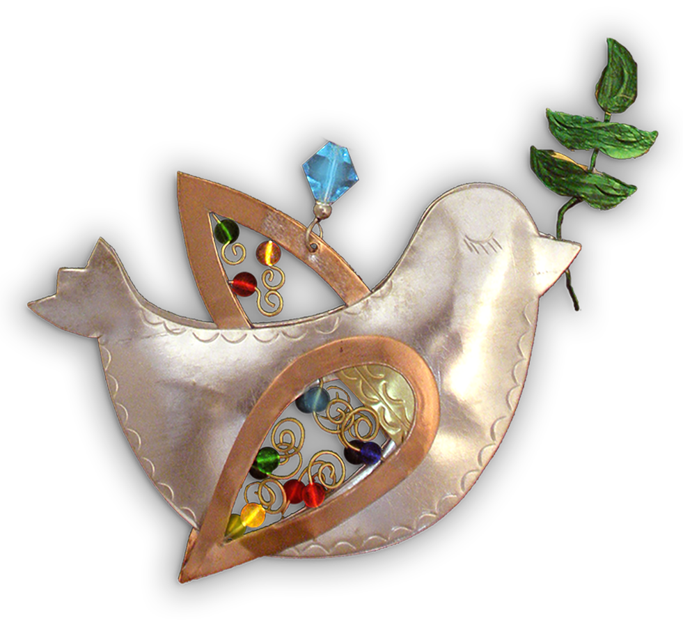 Peace Dove  - Handmade Ornament