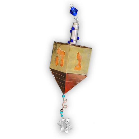 Dreidel - Judaica Inspired - Handmade Ornament