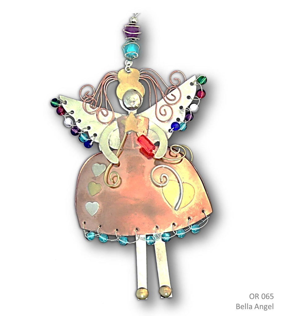 Bella Angel - Handmade Ornament