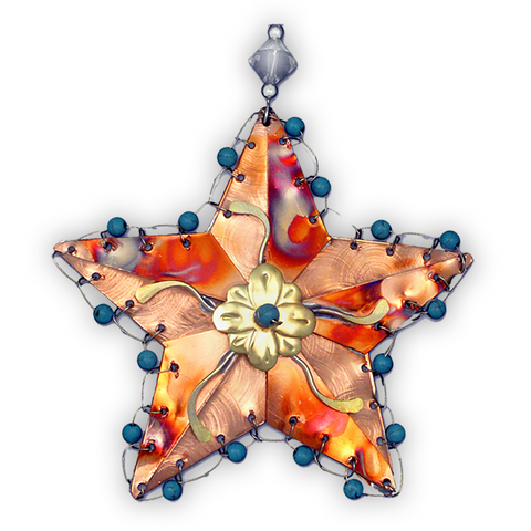 Rustic Star - Handmade Ornament
