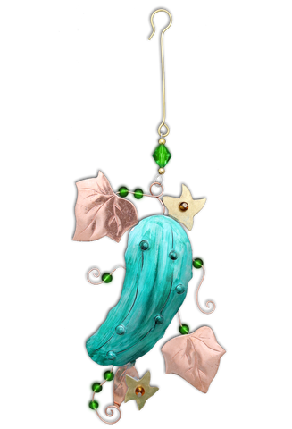 Christmas Pickle - Handmade Ornament