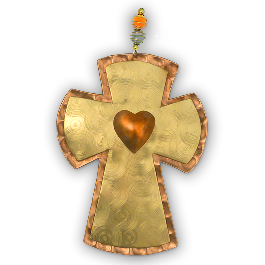 Milagro Cross - Handmade Ornament