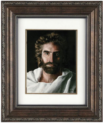 Jesus Prince of Peace,  Archival Print in Elegant 11 x 14-inch Ornate Bronze Frame
