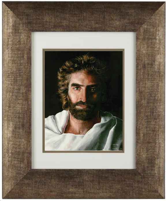 Jesus Prince of Peace,  Archival Print in Elegant 11 x 14-inch Golden Frame