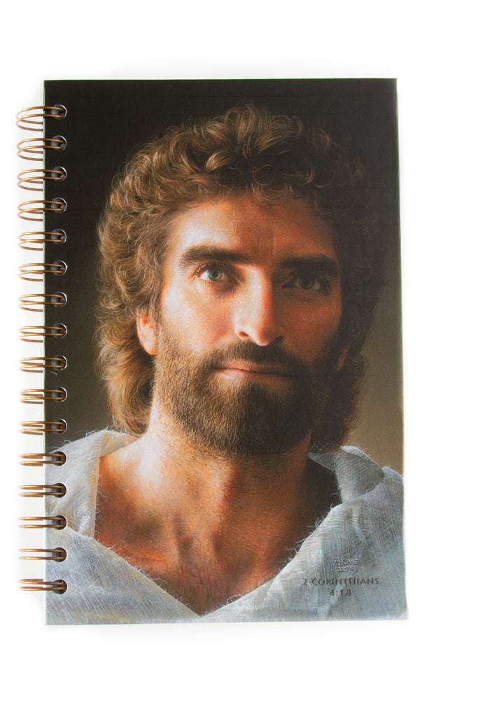 Jesus, Journal, 200 Page Wire Bound  with Pockets, Art by Akiane