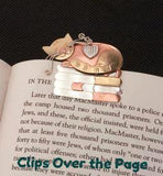 BookArt clip-over-the-page bookmark by www.Art-SoulWorks.com