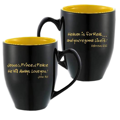 Heaven is For Real Mug & Wrist Band Set