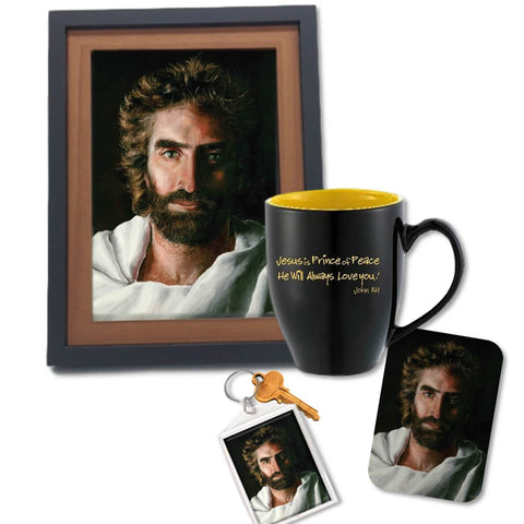 Prince of Peace, Desk Set with mug @ www.art-soulworks.com