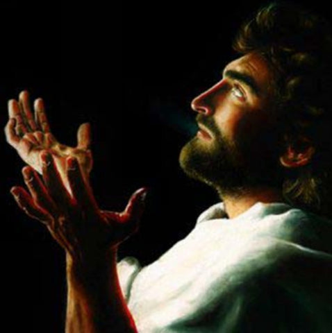Father Forgive Them, Canvas with Jesus Praying Art by Akiane Kramarik