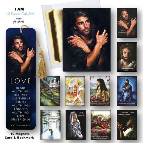 I Am Magnet, greeting card, bookmarks gift set @ www.art-soulworks.com