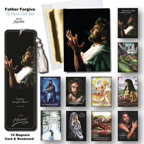 Father Forgive 12 piece gift set @ www.art-soulworks.com