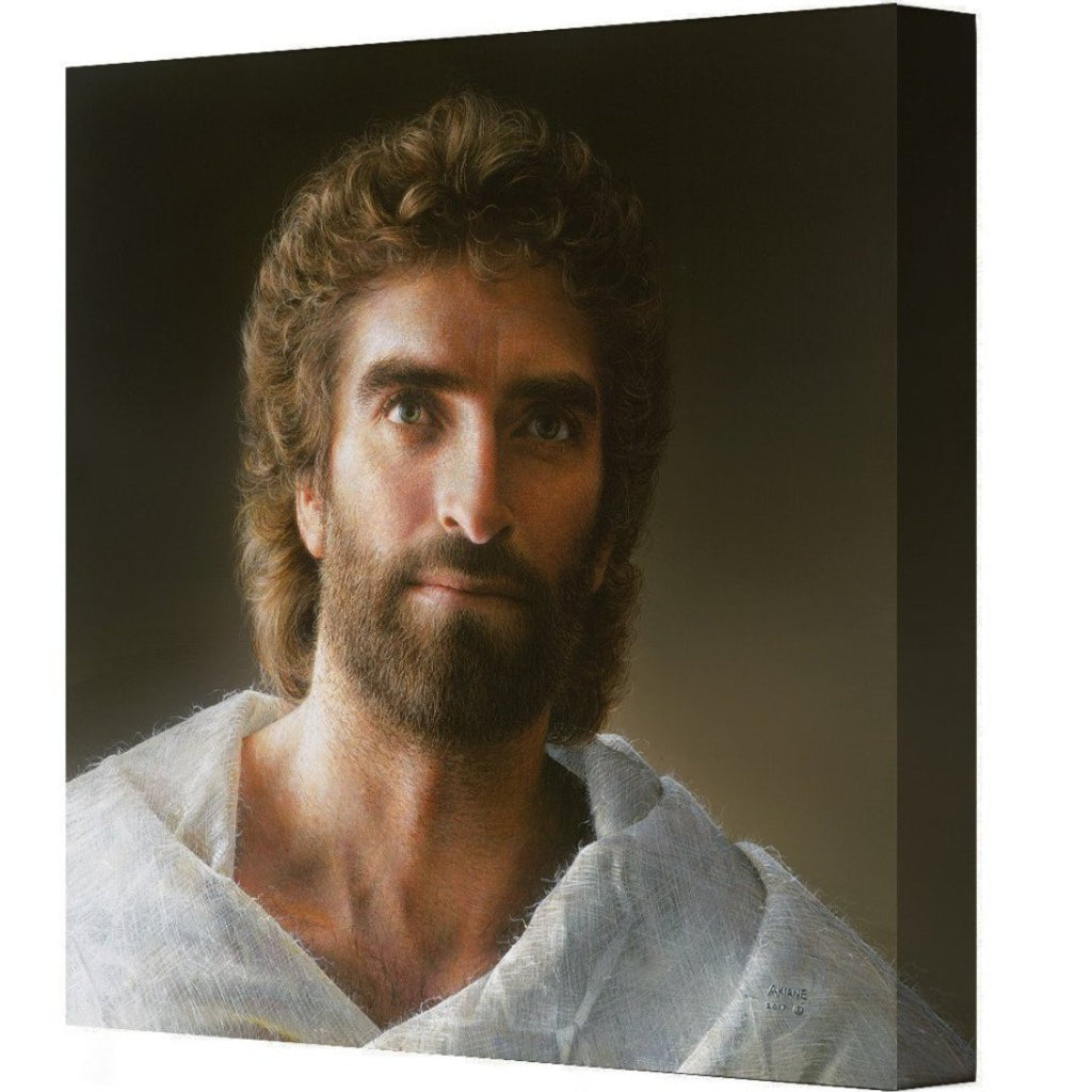 Jesus painted by Akiane Kramarik 2017 - Gallery Wrapped Canvas