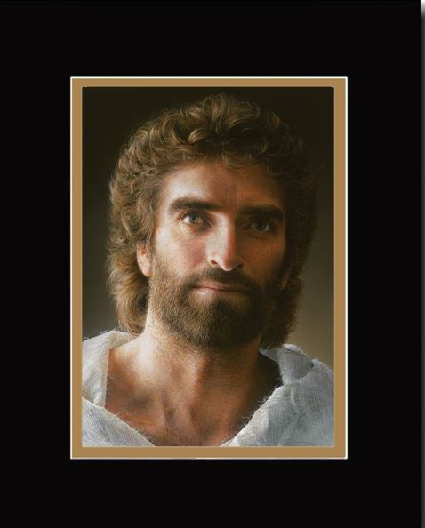JESUS, by Akiane Kramarik released 2017, Double-Matted Print, 16 x 20-inches*